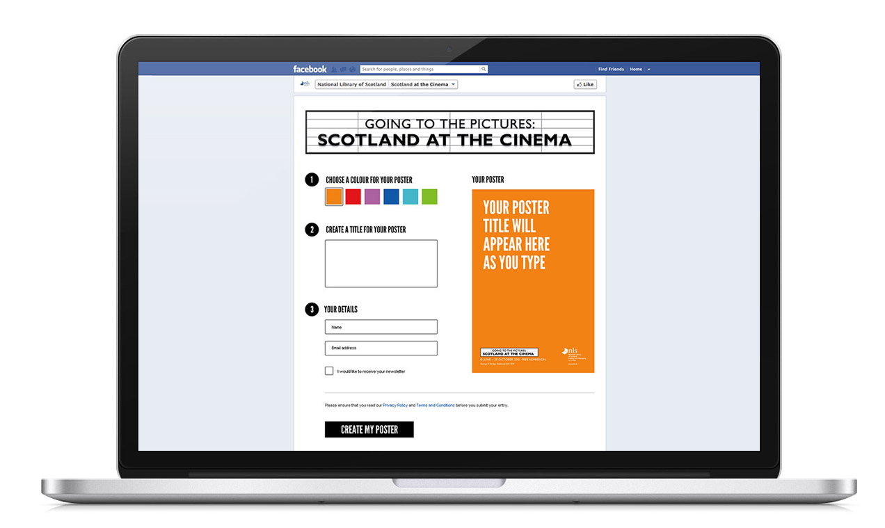 National Library Scotland - Facebook App